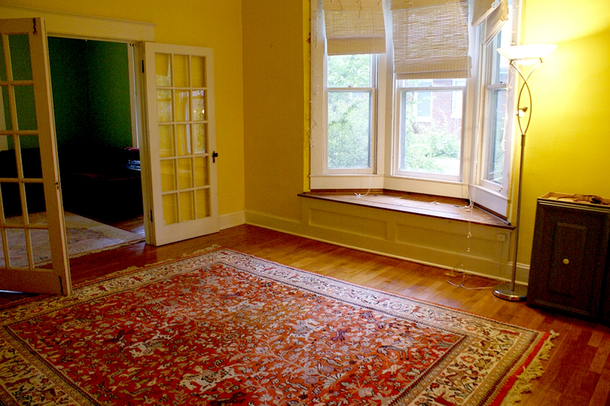 Downstairs Room with Bay Window